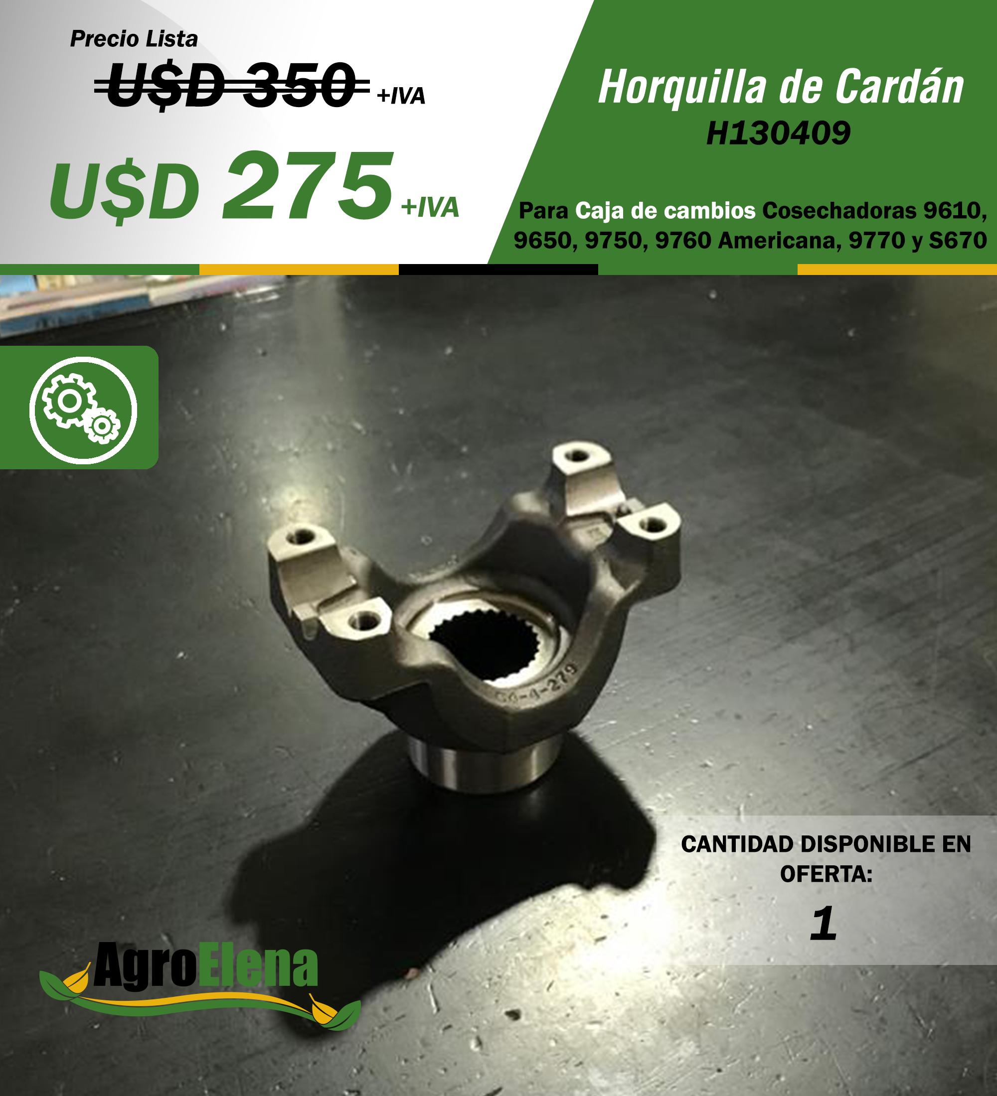 HORQUILLA CAJA DE CAMBIOS JOHN DEERE Image